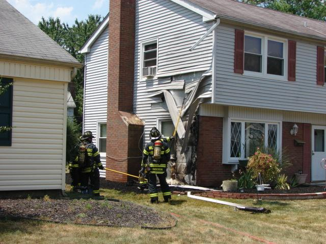 Outside Fire Causes Damage To Garfield Park East Home