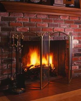Make sure fireplaces and chimneys are cleaned and serviced regularly.