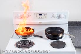 Never leave your stove unattended when cooking.