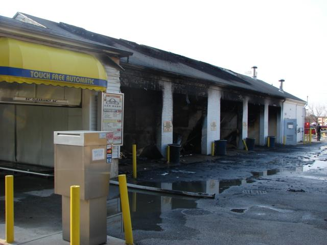 Cascade Car Wash >> Car Wash Destroyed By Fire - Willingboro Fire Department