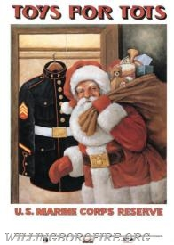 Unwrapped toys can be dropped off until December 10th.