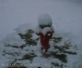 Dig out three feet around any fire hydrant near your home