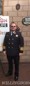 Deputy Chief Sitzenstock at a recent public education event