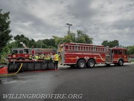 Lumberton Township (Burlington County) operating a tender/pumper
