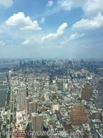From the observatory at the Freedom Tower
