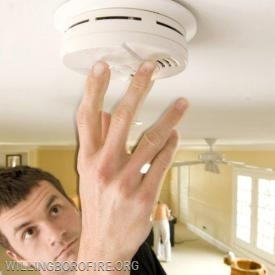 Check your smoke detectors once a month