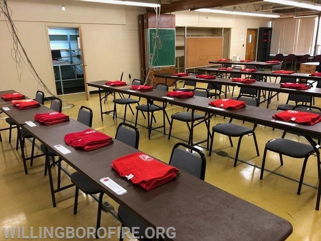 Cadet uniform shirts and seating assignments