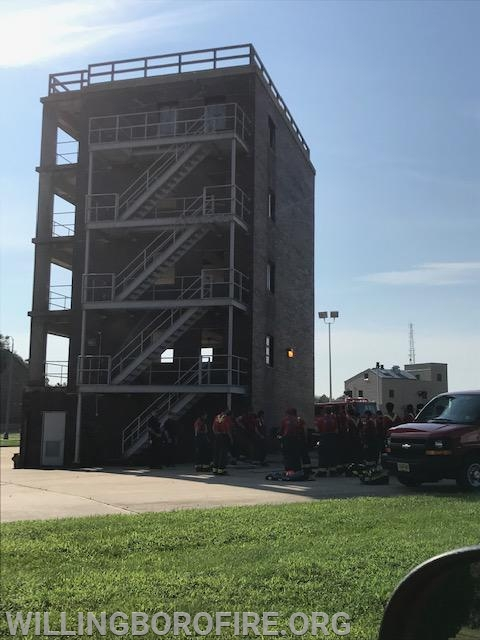 High-rise training tower