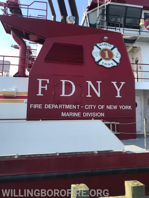 Fire Department of New York (FDNY) Marine 1