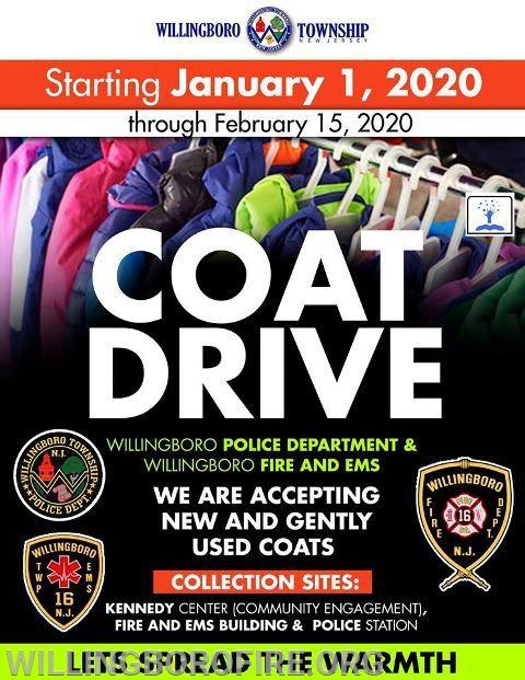 2020 Coat Drive Flyer