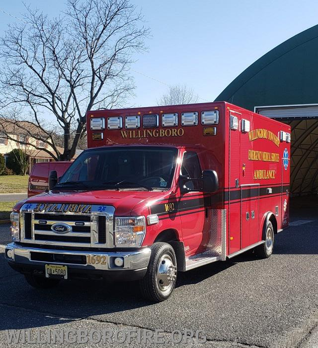 Willingboro EMS Ambulance 1692