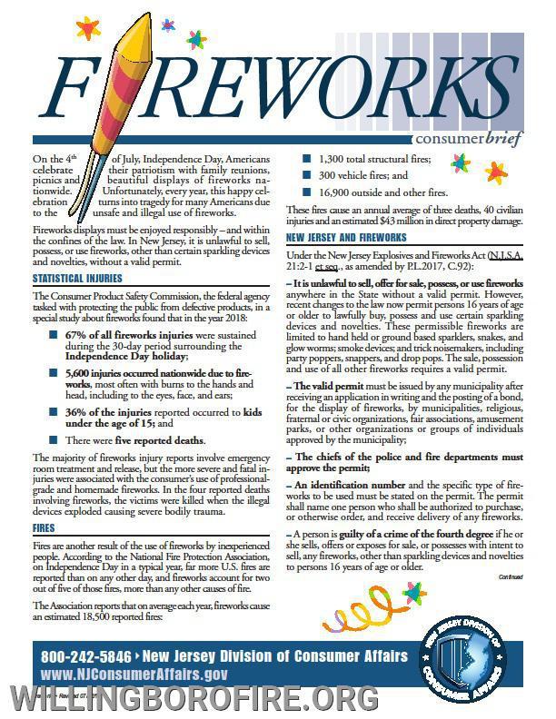 Consumer Fireworks Briefing Part 1