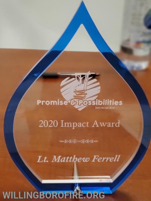 2020 Promises & Possibilities and Impact Award