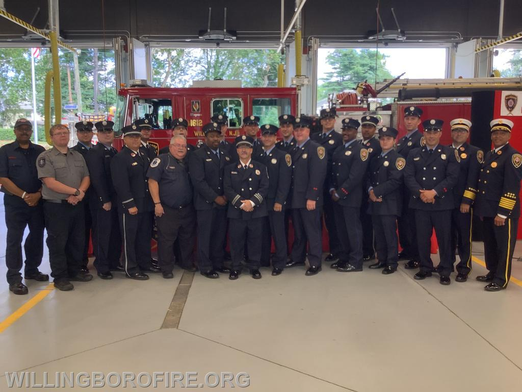 Members of Fire & EMS.