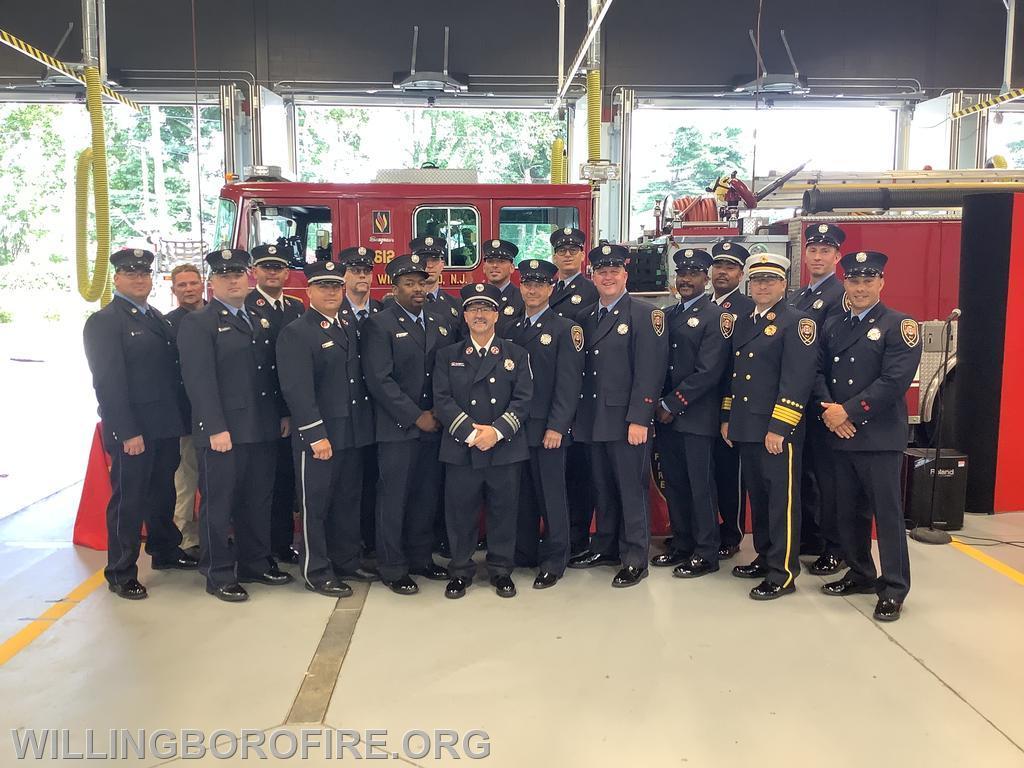 Career Firefighters.
